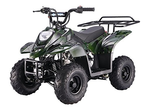 "110cc Four Wheelers 6 Tires Atvs Spider Black - 110cc Four Wheelers 6"" Tires Atvs, Spider Black"